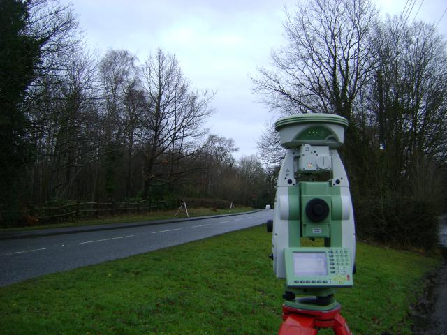 Land survey to GPS coordinates of a site in Cranbrook