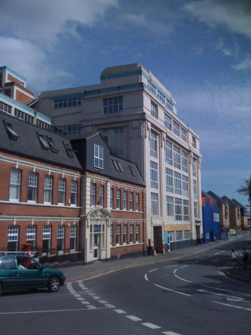Lease plans of a business centre in Maidstone