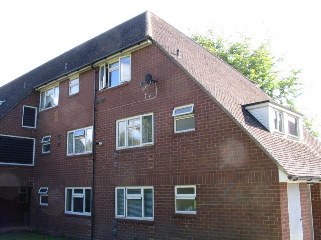 Land survey and elevations of flats in Leatherhead